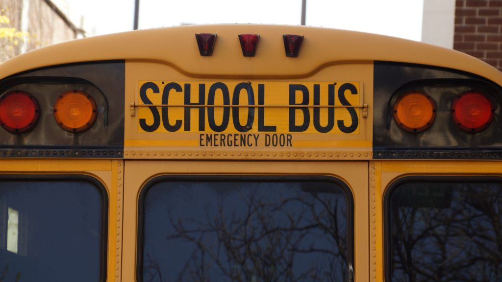 Greathouse Trial Law School Bus Emergency Door