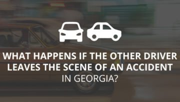 What Happens When the Other Driver Leaves the Scene After an Accident in Georgia?