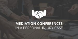 Mediation Conference in a Personal Injury Case