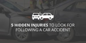 5 Hidden Injuries to Look for After a Car Accident - Greathouse Trial Law