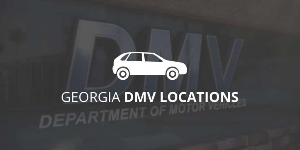 Georgia's DMV Locations | Greathouse Trial Law